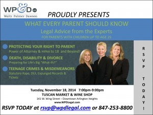 Special Event – What Every Parent Should Know