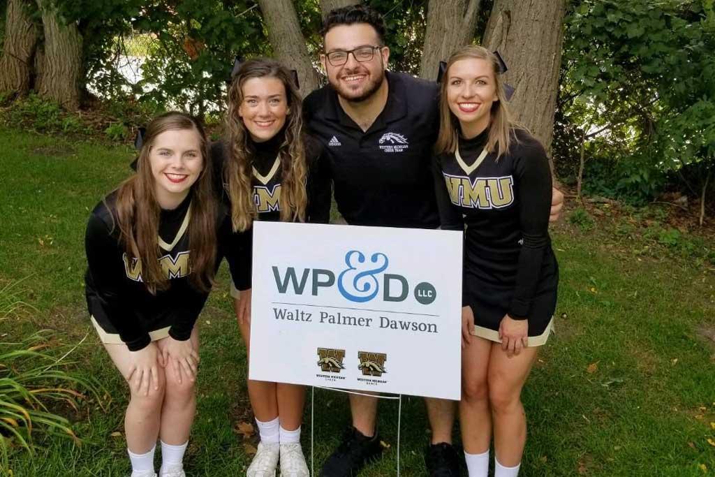 Navigant Law Group, LLC Supports WMU's Cheerleaders!