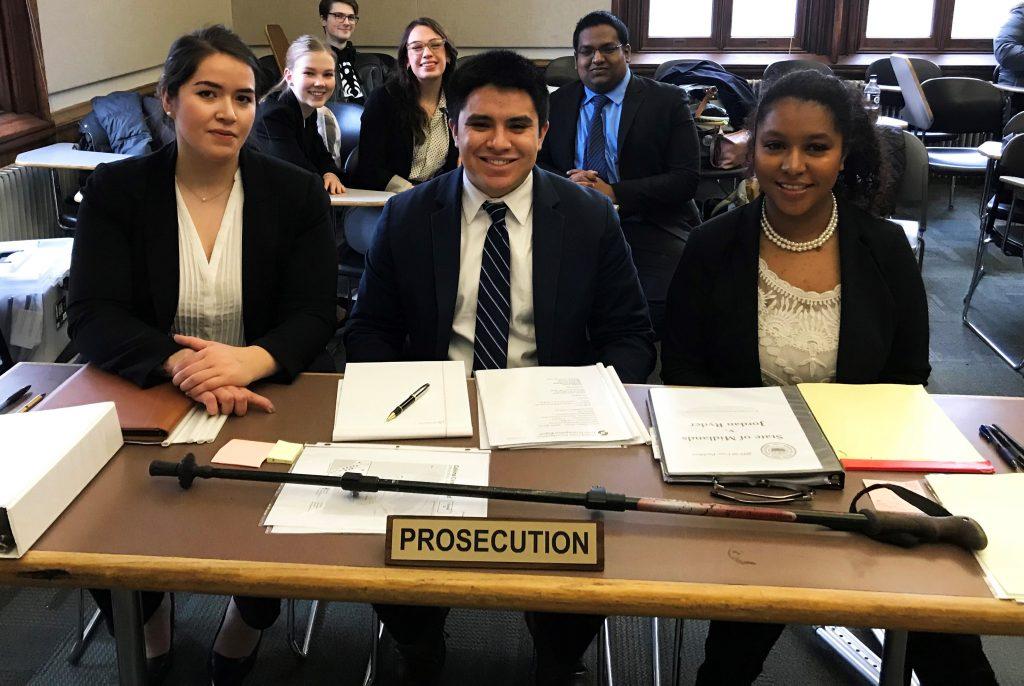 Congratulations Paola Ascencio and the NIU Mock Trial Team