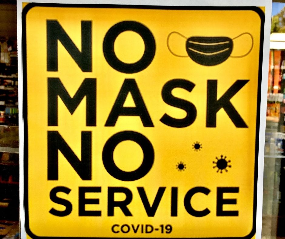 Time to ditch that mask at work? Not quite.
